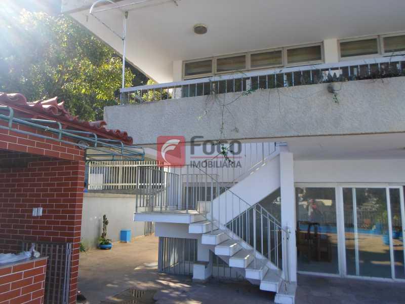 Pátio - Casa à venda Rua General Mariante,Laranjeiras, Rio de Janeiro - R$ 2.500.000 - JBCA60015 - 5