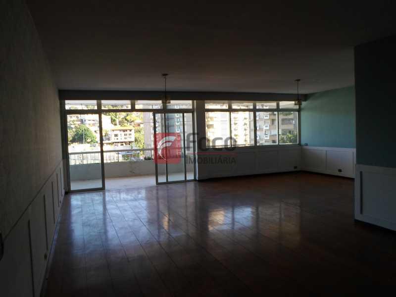 Sala e varanda - Casa à venda Rua General Mariante,Laranjeiras, Rio de Janeiro - R$ 2.500.000 - JBCA60015 - 7