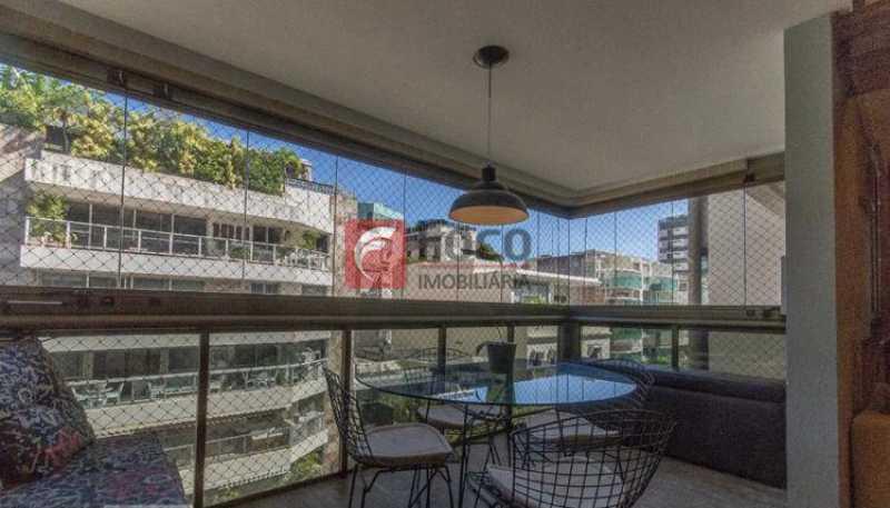 012 - Cobertura à venda Rua Professor Saldanha,Lagoa, Rio de Janeiro - R$ 2.150.000 - JBCO30169 - 11