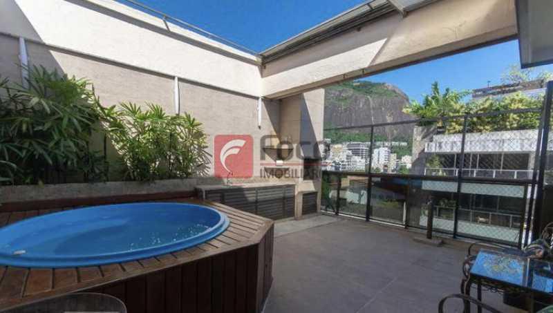 014 - Cobertura à venda Rua Professor Saldanha,Lagoa, Rio de Janeiro - R$ 2.150.000 - JBCO30169 - 4