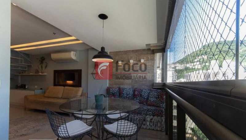 017 - Cobertura à venda Rua Professor Saldanha,Lagoa, Rio de Janeiro - R$ 2.150.000 - JBCO30169 - 15