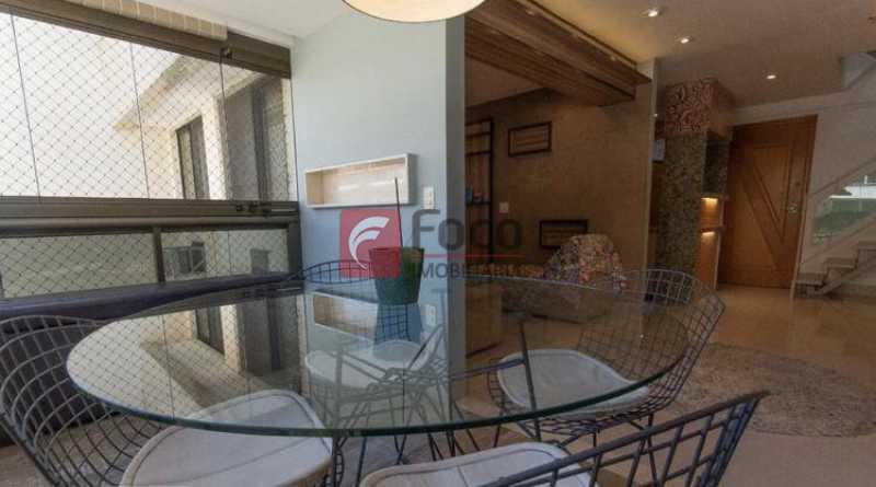 018 - Cobertura à venda Rua Professor Saldanha,Lagoa, Rio de Janeiro - R$ 2.150.000 - JBCO30169 - 16