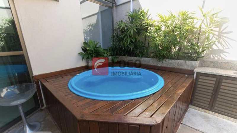 020 - Cobertura à venda Rua Professor Saldanha,Lagoa, Rio de Janeiro - R$ 2.150.000 - JBCO30169 - 23