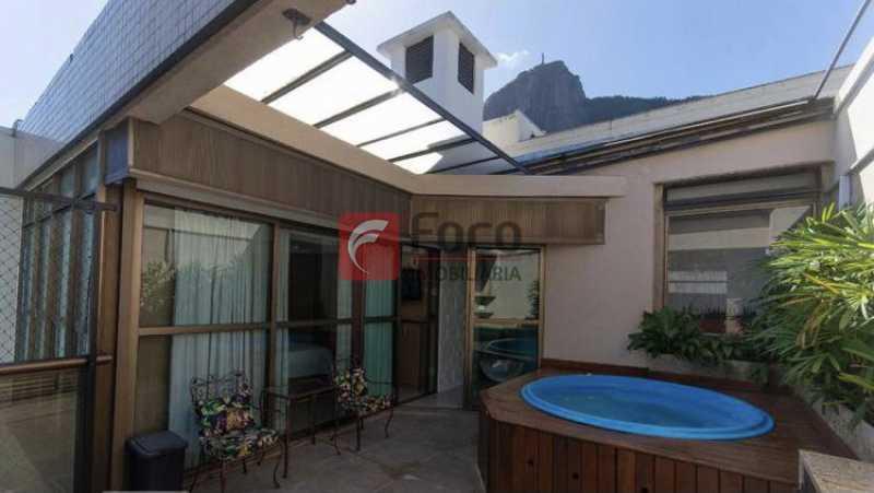 021 - Cobertura à venda Rua Professor Saldanha,Lagoa, Rio de Janeiro - R$ 2.150.000 - JBCO30169 - 1