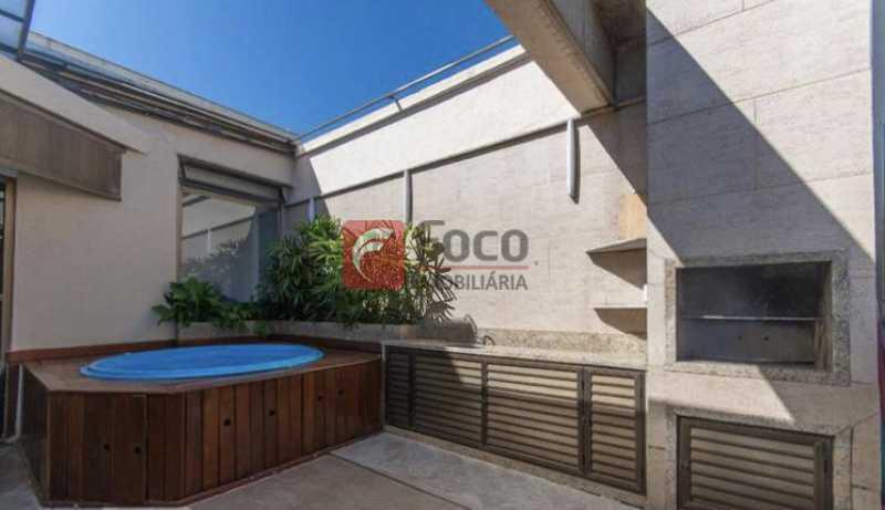 023 - Cobertura à venda Rua Professor Saldanha,Lagoa, Rio de Janeiro - R$ 2.150.000 - JBCO30169 - 3