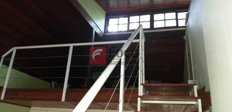 MEZANINO - Casa à venda Rua Vitória Régia,Lagoa, Rio de Janeiro - R$ 2.180.000 - JBCA40057 - 14
