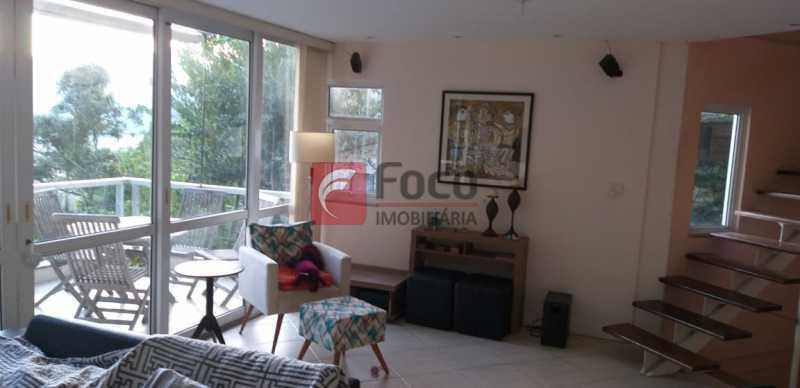 SALA - Casa à venda Rua Vitória Régia,Lagoa, Rio de Janeiro - R$ 2.180.000 - JBCA40057 - 4
