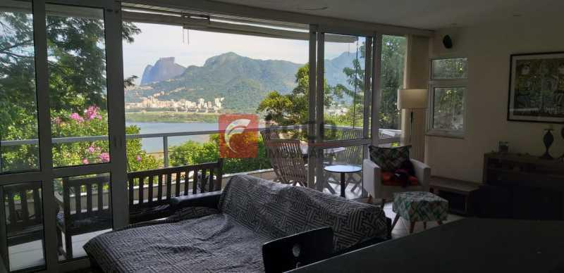 SALA - Casa à venda Rua Vitória Régia,Lagoa, Rio de Janeiro - R$ 2.180.000 - JBCA40057 - 1