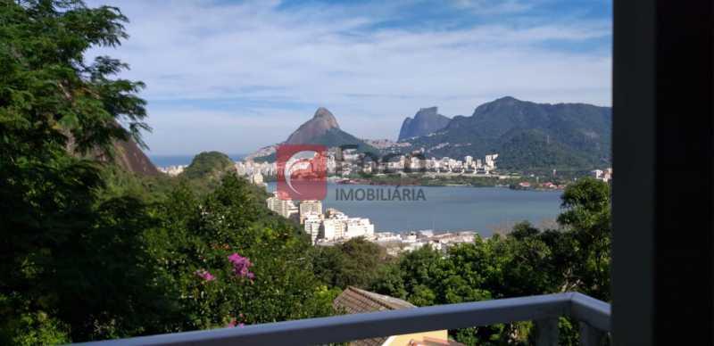 VISTA - Casa à venda Rua Vitória Régia,Lagoa, Rio de Janeiro - R$ 2.180.000 - JBCA40057 - 3