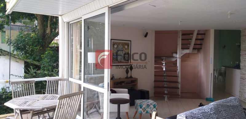 SALA - Casa à venda Rua Vitória Régia,Lagoa, Rio de Janeiro - R$ 2.180.000 - JBCA40057 - 5
