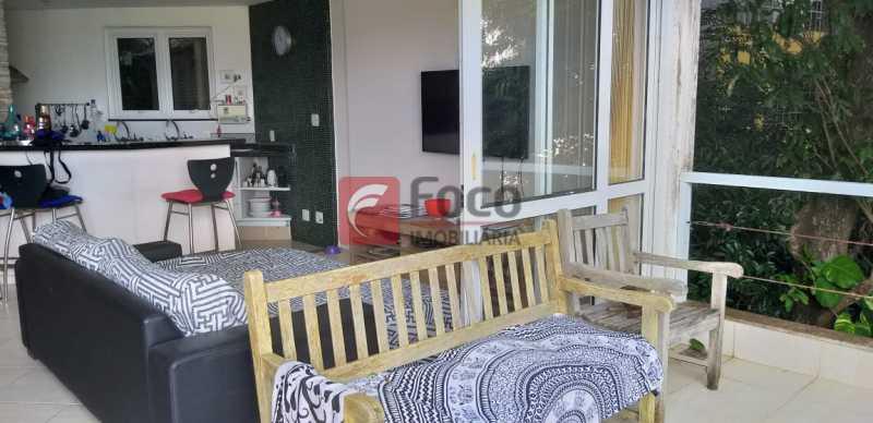 SALA - Casa à venda Rua Vitória Régia,Lagoa, Rio de Janeiro - R$ 2.180.000 - JBCA40057 - 8