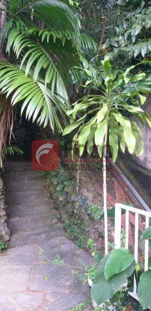 JARDIM - Casa à venda Rua Vitória Régia,Lagoa, Rio de Janeiro - R$ 2.180.000 - JBCA40057 - 24