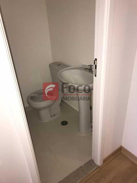 BANHEIRO: - Sala Comercial 22m² à venda Rua dos Inválidos,Centro, Rio de Janeiro - R$ 195.000 - JBSL00074 - 4