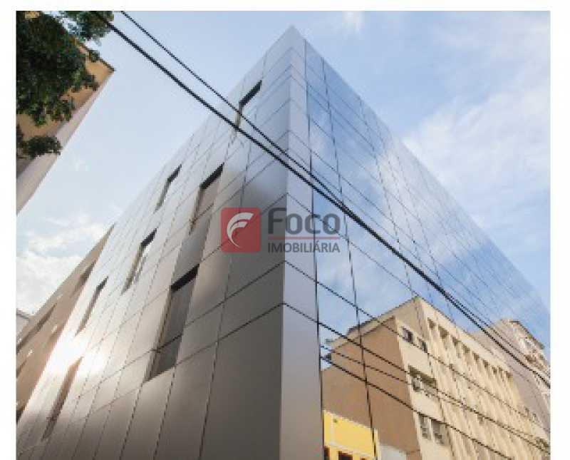 FACHADA: - Sala Comercial 22m² à venda Rua dos Inválidos,Centro, Rio de Janeiro - R$ 195.000 - JBSL00074 - 5