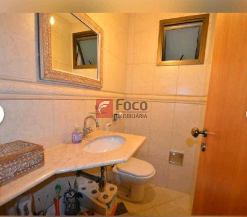 LAVABO - Cobertura à venda Rua Visconde de Silva,Botafogo, Rio de Janeiro - R$ 2.900.000 - JBCO30172 - 13