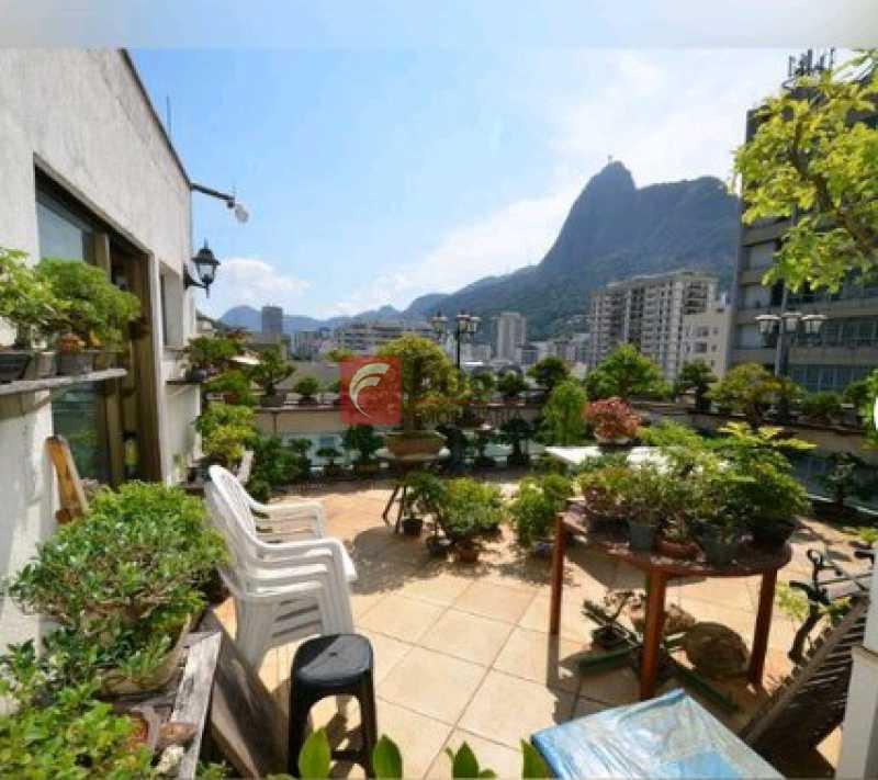 TERRAÇO - Cobertura à venda Rua Visconde de Silva,Botafogo, Rio de Janeiro - R$ 2.900.000 - JBCO30172 - 17