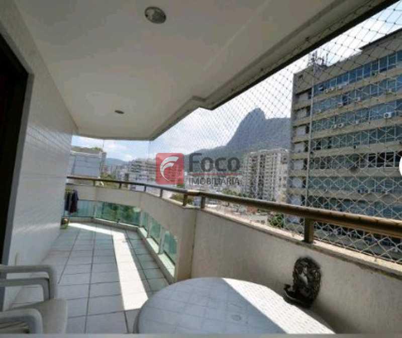 VARANDA SUÍTE - Cobertura à venda Rua Visconde de Silva,Botafogo, Rio de Janeiro - R$ 2.900.000 - JBCO30172 - 1