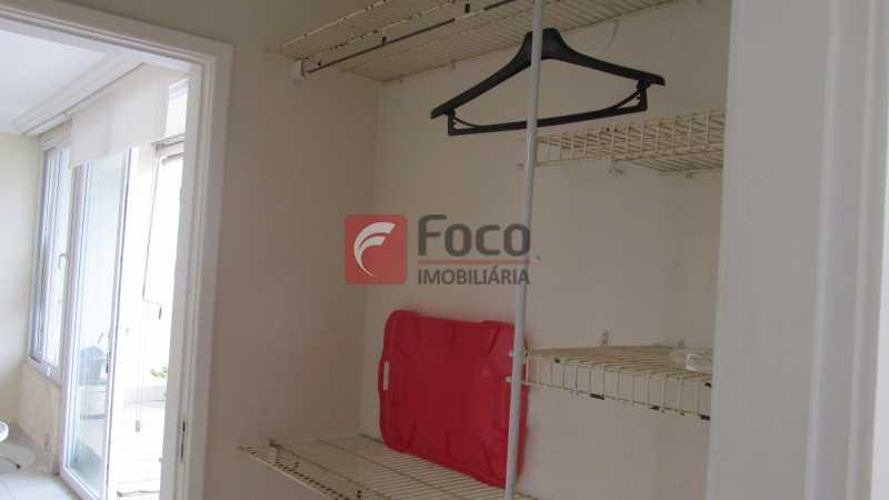 closet - Cobertura 4 quartos à venda Jardim Botânico, Rio de Janeiro - R$ 2.050.000 - JBCO40085 - 24