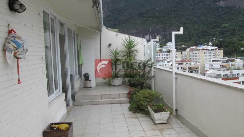 Terraço - Cobertura 4 quartos à venda Jardim Botânico, Rio de Janeiro - R$ 2.050.000 - JBCO40085 - 1