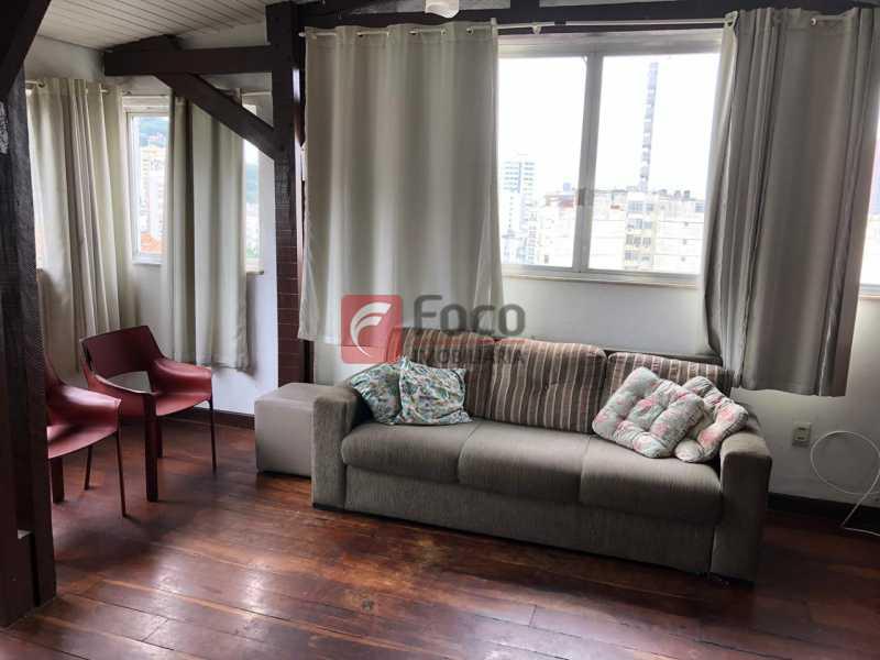 SALA DE ESTAR: - Cobertura à venda Rua Marquês de Abrantes,Flamengo, Rio de Janeiro - R$ 700.000 - JBCO30176 - 3