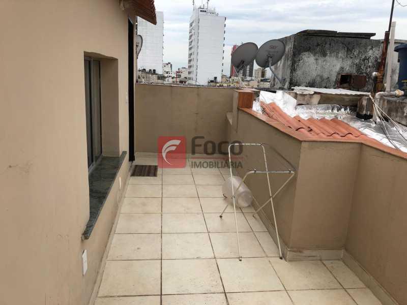 TERRAÇO: - Cobertura à venda Rua Marquês de Abrantes,Flamengo, Rio de Janeiro - R$ 700.000 - JBCO30176 - 16