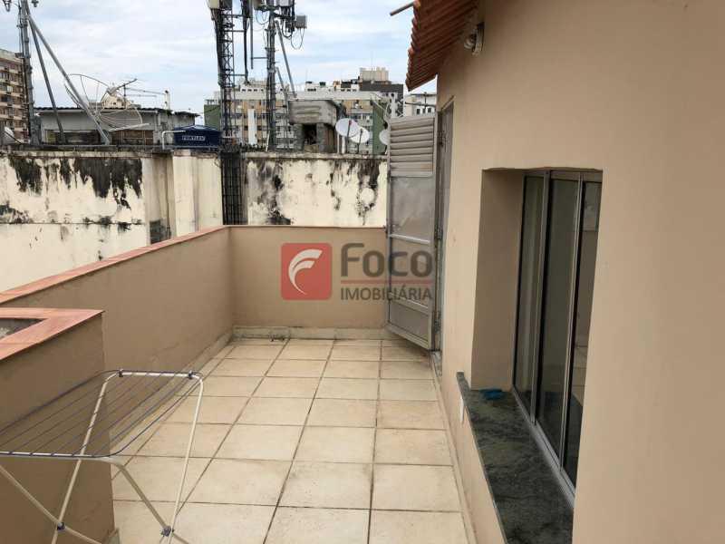 TERRAÇO: - Cobertura à venda Rua Marquês de Abrantes,Flamengo, Rio de Janeiro - R$ 700.000 - JBCO30176 - 17
