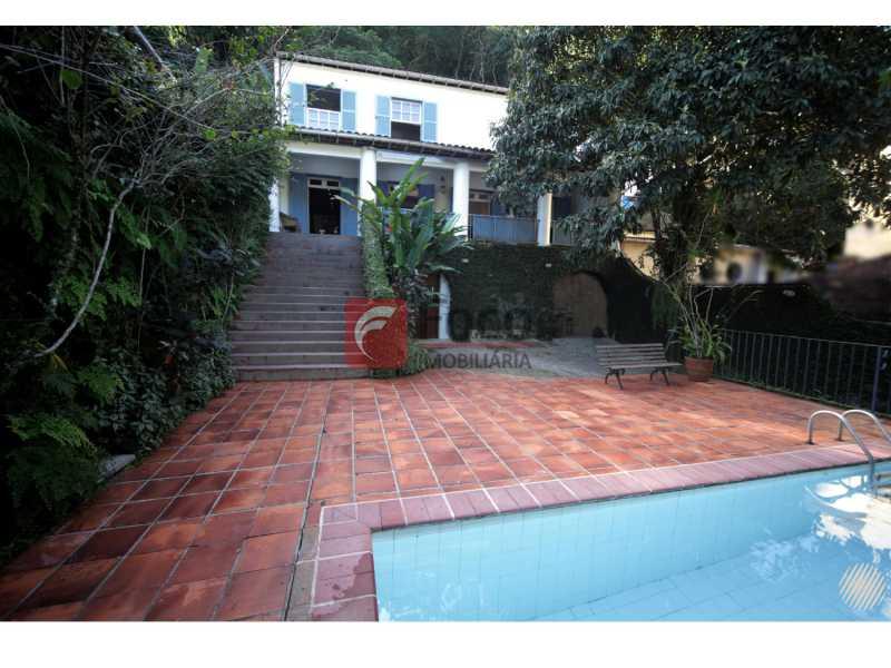 Piscina - Casa à venda Rua Marquês de Sabará,Jardim Botânico, Rio de Janeiro - R$ 4.300.000 - JBCA50037 - 4
