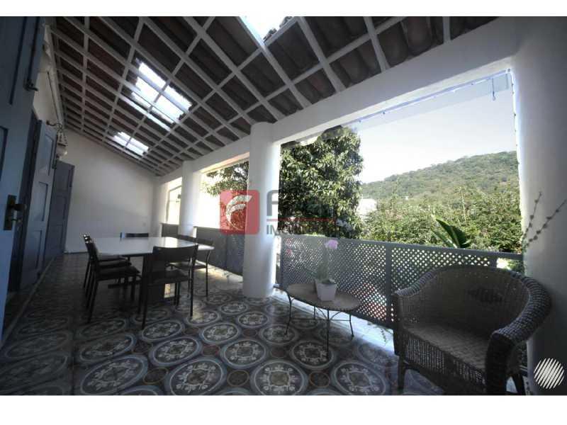Varandão - Casa à venda Rua Marquês de Sabará,Jardim Botânico, Rio de Janeiro - R$ 4.300.000 - JBCA50037 - 3