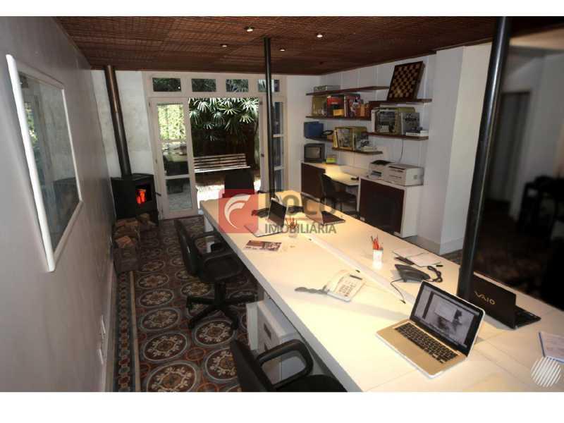 Salão - Casa à venda Rua Marquês de Sabará,Jardim Botânico, Rio de Janeiro - R$ 4.300.000 - JBCA50037 - 6