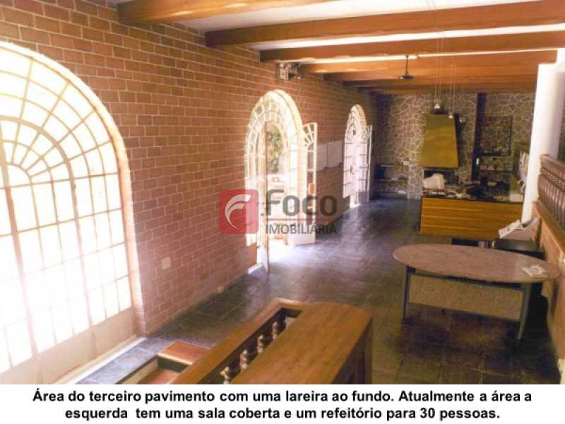 SALA: - Casa à venda Estrada da Gávea,Gávea, Rio de Janeiro - R$ 6.000.000 - JBCA80008 - 5