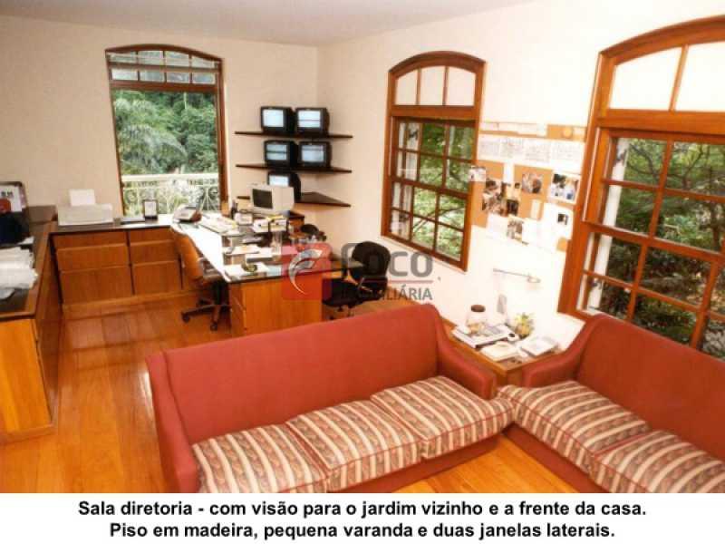 7 - Casa à venda Estrada da Gávea,Gávea, Rio de Janeiro - R$ 6.000.000 - JBCA80008 - 9