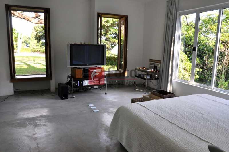 quarto casal peq - Casa em Condomínio à venda Rua João Borges,Gávea, Rio de Janeiro - R$ 15.000.000 - JBCN60002 - 16