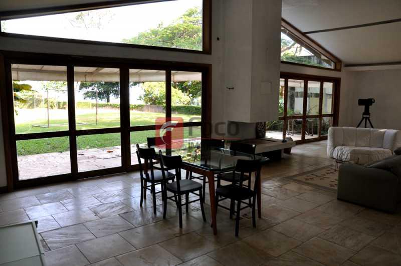 sala peq - Casa em Condomínio à venda Rua João Borges,Gávea, Rio de Janeiro - R$ 15.000.000 - JBCN60002 - 3