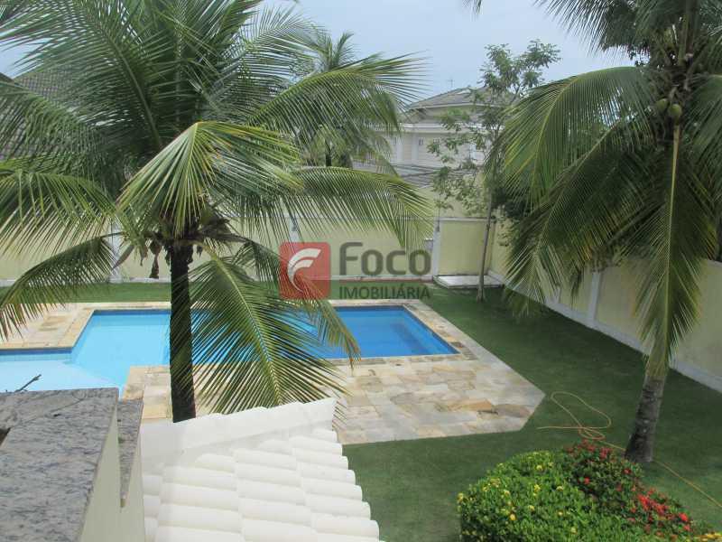 VISTA DA SUÍTE - Casa em Condomínio à venda Rua Ariosto Berna,Barra da Tijuca, Rio de Janeiro - R$ 6.500.000 - JBCN40009 - 7