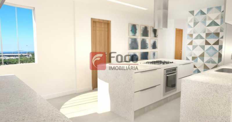 Cozinha - Apartamento à venda Avenida Augusto Severo,Glória, Rio de Janeiro - R$ 899.000 - JBAP31464 - 7