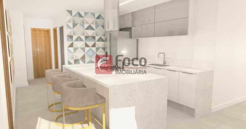 Cozinha integrada - Apartamento à venda Avenida Augusto Severo,Glória, Rio de Janeiro - R$ 899.000 - JBAP31464 - 8