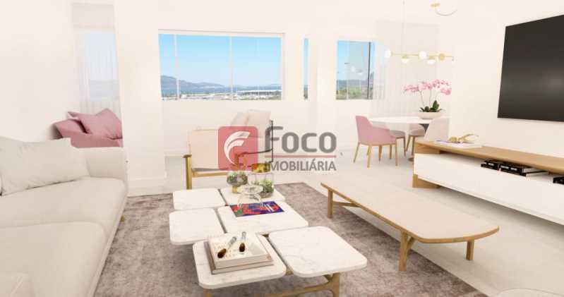 Sala - Apartamento à venda Avenida Augusto Severo,Glória, Rio de Janeiro - R$ 899.000 - JBAP31464 - 3