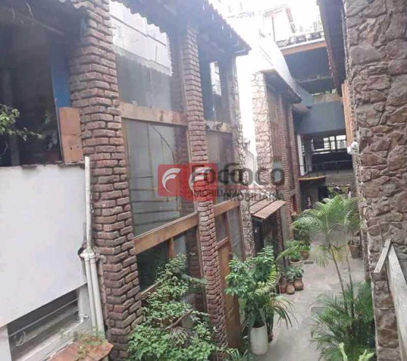fachada - Casa de Vila à venda Rua Gago Coutinho,Laranjeiras, Rio de Janeiro - R$ 750.000 - JBCV10002 - 1