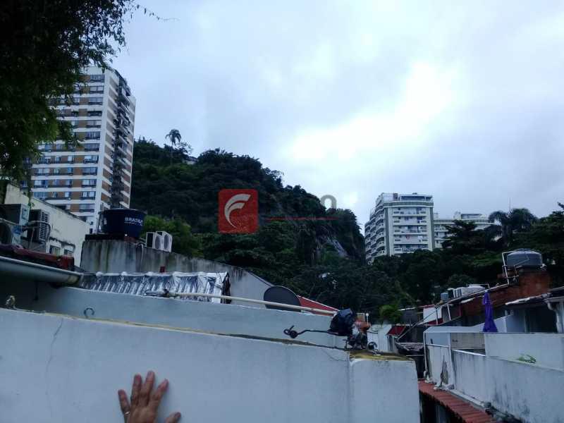 vista terraço - Casa de Vila à venda Rua Gago Coutinho,Laranjeiras, Rio de Janeiro - R$ 750.000 - JBCV10002 - 7
