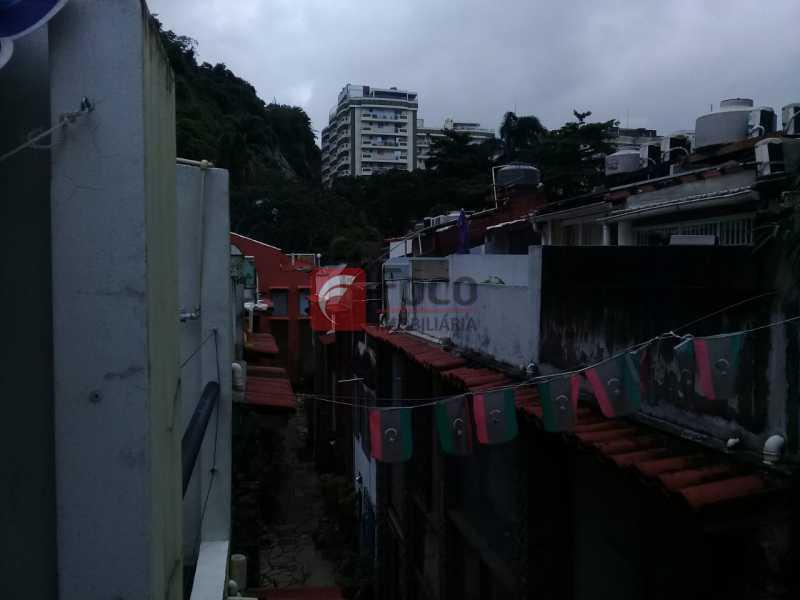 vista terraço - Casa de Vila à venda Rua Gago Coutinho,Laranjeiras, Rio de Janeiro - R$ 750.000 - JBCV10002 - 8