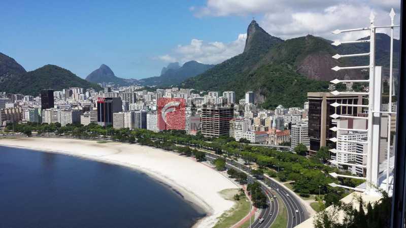 VISTA - Cobertura à venda Praia de Botafogo,Botafogo, Rio de Janeiro - R$ 3.900.000 - JBCO30182 - 1