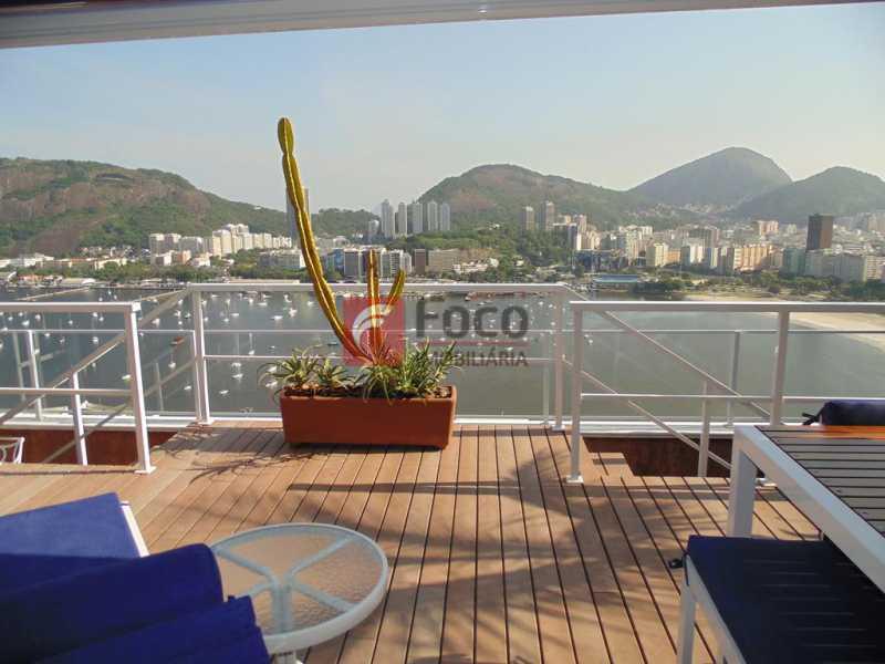 ÁREA EXTERNA - Cobertura à venda Praia de Botafogo,Botafogo, Rio de Janeiro - R$ 3.900.000 - JBCO30182 - 31