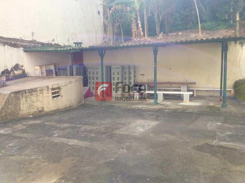 PÁTIO CHURRASQUEIRA - Apartamento à venda Rua Cândido Mendes,Glória, Rio de Janeiro - R$ 395.000 - JBAP10351 - 11