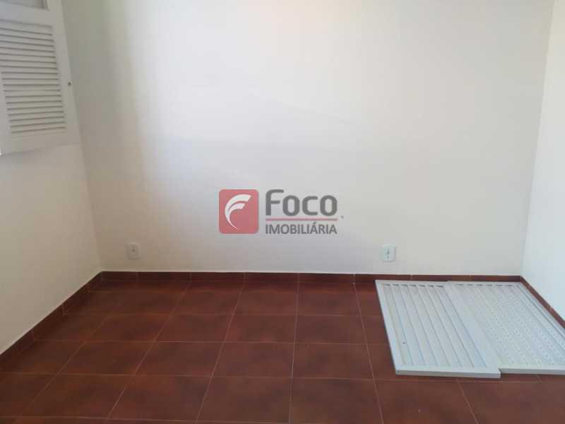 QUARTO 1 - Casa de Vila à venda Rua Maria Eugênia,Humaitá, Rio de Janeiro - R$ 1.210.000 - JBCV20006 - 6