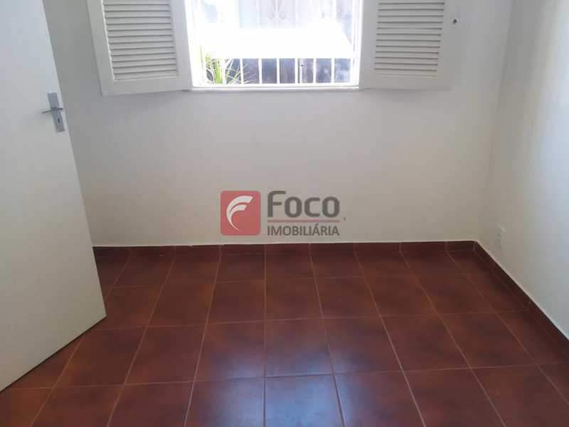 QUARTO 1 - Casa de Vila à venda Rua Maria Eugênia,Humaitá, Rio de Janeiro - R$ 1.210.000 - JBCV20006 - 7