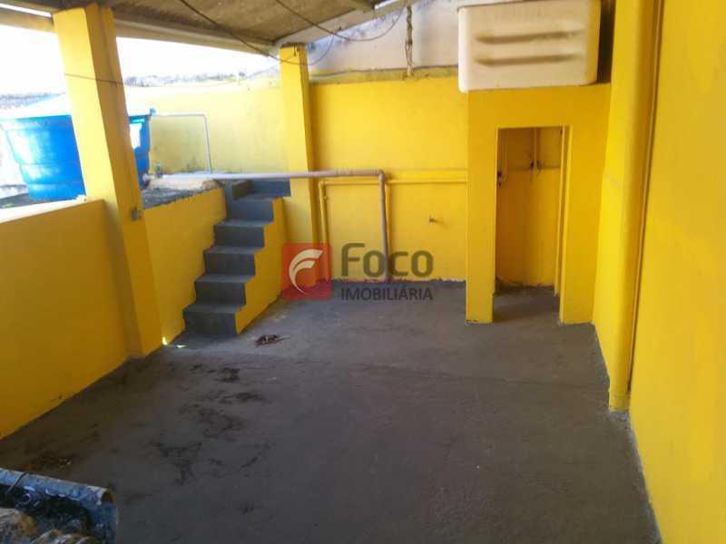 TERRAÇO - Casa de Vila à venda Rua Maria Eugênia,Humaitá, Rio de Janeiro - R$ 1.210.000 - JBCV20006 - 21