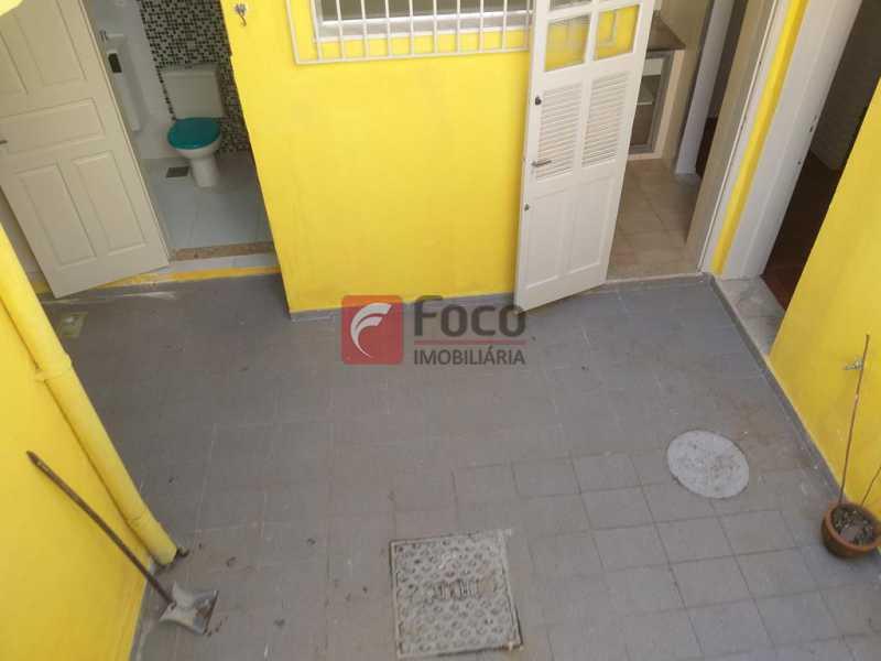 QUINTAL  - Casa de Vila à venda Rua Maria Eugênia,Humaitá, Rio de Janeiro - R$ 1.210.000 - JBCV20006 - 13