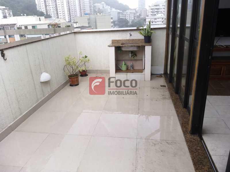 TERRAÇO - Cobertura à venda Rua Visconde de Silva,Botafogo, Rio de Janeiro - R$ 950.000 - JBCO20054 - 1