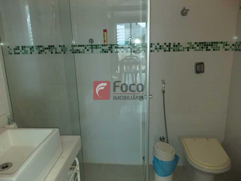 BANHEIRO LOFT - Cobertura à venda Rua Visconde de Silva,Botafogo, Rio de Janeiro - R$ 950.000 - JBCO20054 - 7