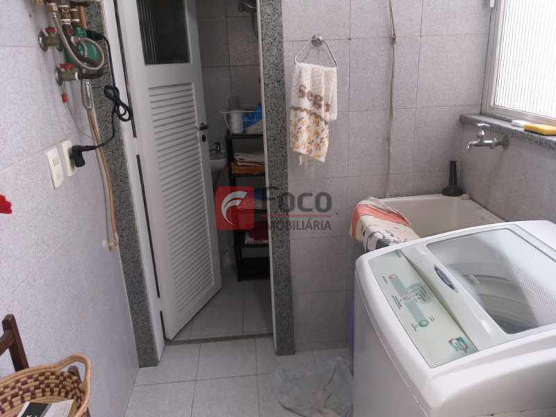 ÁREA DE SERVIÇO - Cobertura à venda Rua Visconde de Silva,Botafogo, Rio de Janeiro - R$ 950.000 - JBCO20054 - 17